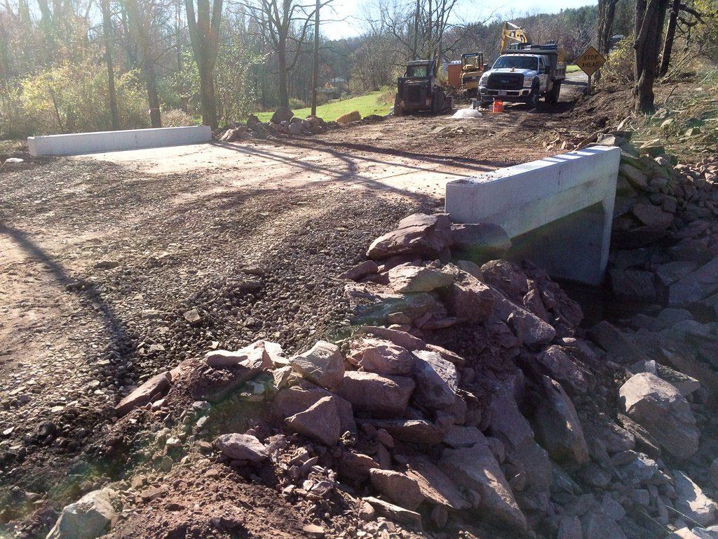 Concrete Culvert Installation, Mt  Pleasant Township, Pennsylvania